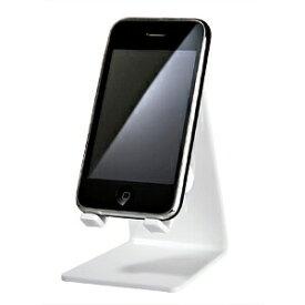 スマートフォンスタンド ホワイト スマホスタンド デスクスタンド 卓上 iPhone8/8 Plus対応