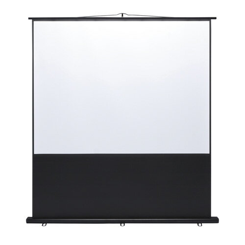 プロジェクタースクリーン 床置き式 100インチ 4:3 [PRS-Y100K]【サンワサプライ】【大物商品】