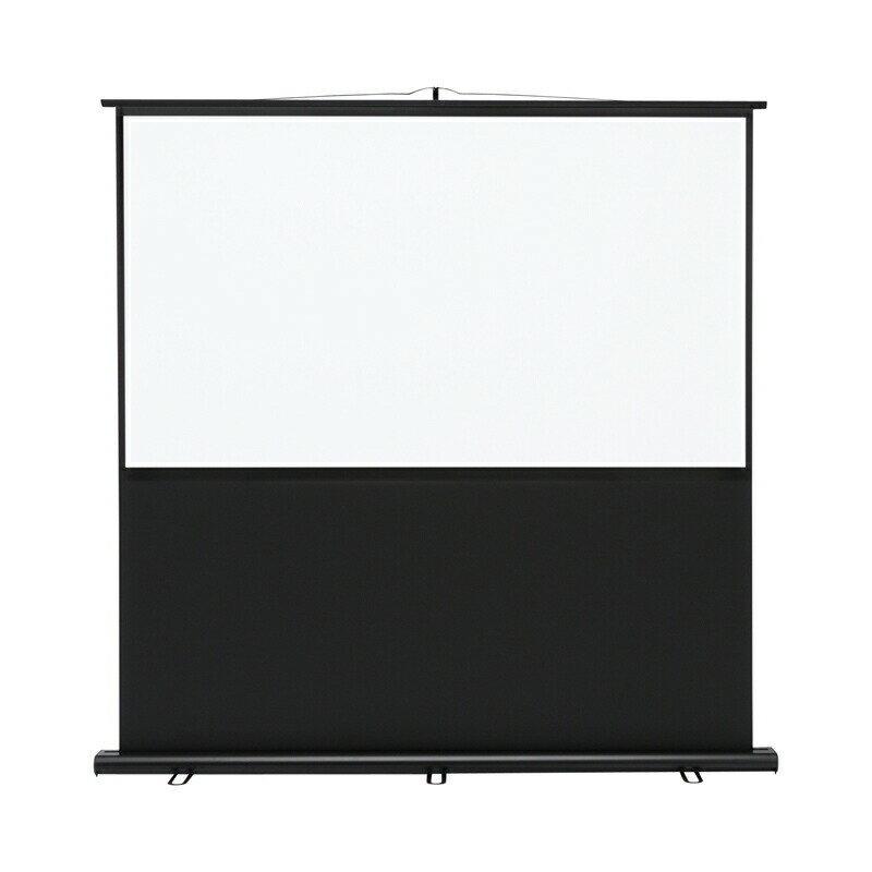 プロジェクタースクリーン 70インチ相当 床置き式 アスペクト比16:9 プロジェクタスクリーン [PRS-Y70HD]【サンワサプライ】【大物商品】