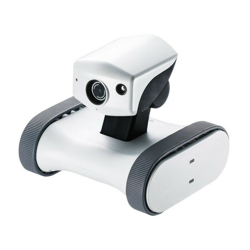 アボットライリー ネットワークカメラ 移動式 双方向通話対応 ホワイト ペットカメラ ペット カメラ 留守 ペット 見守りカメラ ペットモニター 小型[RB-RILEY]【サンワサプライ】【送料無料】