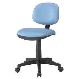 オフィスチェア ブルー ビニールレザーチェア 椅子
