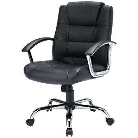 レザーチェアー 本革張り ロッキング パソコンチェア プレジデントチェア オフィスチェア 椅子