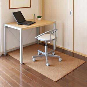 チェアマット ブラウン 大型 オフィスチェア用 イスのキャスターで床が傷つくのを防ぐ 椅子 フロアシート 床保護マット 畳 フローリング[SNC-MAT2BR]【サンワサプライ】 【送料無料】