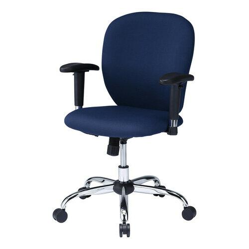 オフィスチェア ブルー スチール脚 肘付 ロッキング 椅子 [SNC-T149ABL]【サンワサプライ】【送料無料】