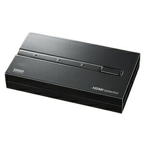 HDMIセレクター HDMI切替機 3入力1出力 3D映像・フルHD対応 切替器 切替機 [SW-HD31]【サンワサプライ】 【送料無料】