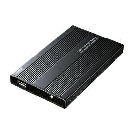 ハードディスクケース 2.5インチIDE HDD用 内蔵HDDを外付け化 ブラック 放熱アルミケース自作用 PCパーツ DOS/Vパーツ