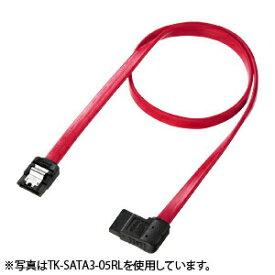 SATAケーブル 1m 高速転送SATA3対応 右L型 ストレート側ラッチ付き シリアルATAケーブル自作用 PCパーツ DOS/Vパーツ