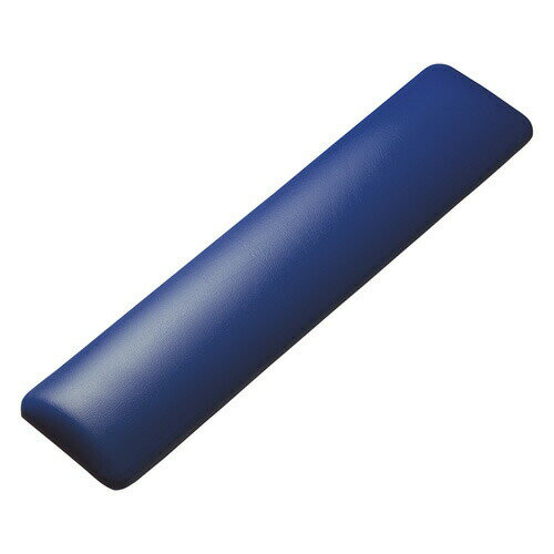 【2月22日値下げしました】キーボード用リストレスト(レザー調素材、ブルー)[TOK-GELPNLBL]