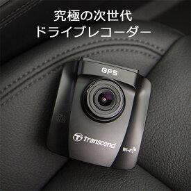 Transcend ドライブレコーダー microSD32GB付属 バッテリー内蔵 吸盤固定仕様 DrivePro 23TS-DP230M-32G