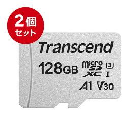 Transcend microSDXCカード 128GB Class10 UHS-I U3 V30 A1 マイクロSD microSDカード クラス10