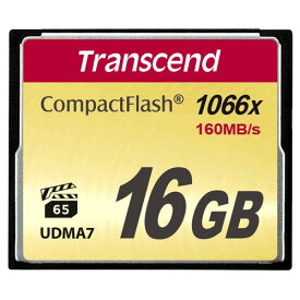 Transcend コンパクトフラッシュ 16GB 1066倍速 5年保証