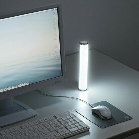 LEDポータブルライト USB充電式 ホワイト 懐中電灯 防災 充電式 LEDライト[USB-TOY90W]【送料無料】