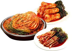 三口一品 白菜キムチ1kg チョンガクキムチ415g ねぎキムチ415g 人気 本格 キムチ 韓国 本格派 本場 乳酸菌 健康 食生活