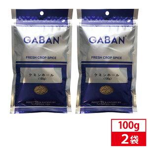 【2袋セット】GABAN ギャバン クミンホール 100g 業務用 スパイス ハーブ スタータースパイス