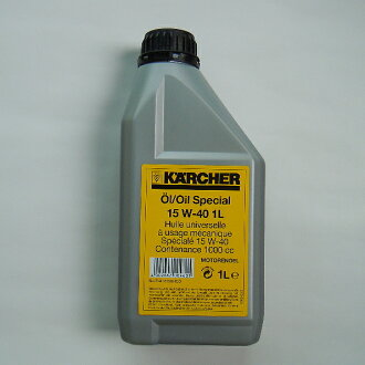 Karcher engine oil 1 l SAE convoy15w-40 (KARCHER high pressure cleaning machine optional accessories)