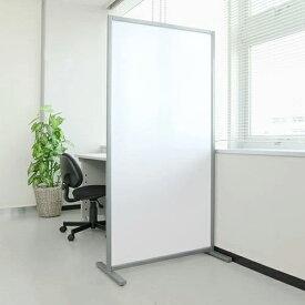 半透明 パーテーション 幅80cm×高さ160cm 軽量 オフィス 店舗 パーティション [100-SPT001]
