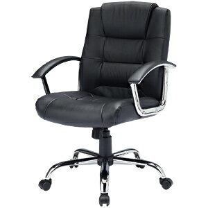 【送料無料】レザーチェアー 本革 ロッキング パソコンチェア プレジデントチェア オフィスチェア 椅子 [SNC-L10K]