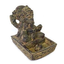 インドの神様 ガネーシャの置物 ガネーシャ 置物 ガネーシャ像 夢を叶える象 金運アップ 開運 瞑想 商売繁盛 現世利益 ヒンドゥー教の神様 象の神様 ゾウの神様 ガナパティ 歓喜天 聖天 石像 お香立て