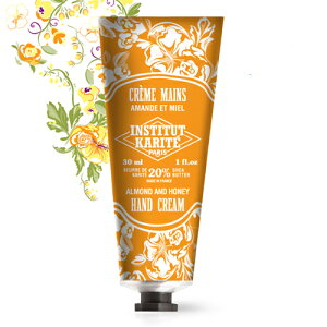 INSTITUT KARITE インスティテュート カリテ Shea Hand Cream シア ハンドクリーム 30ml Almond Honey アーモンドハニー【シアバター】【フランス】【セレクトショップ】【潤い】【携帯用】【トラベル】