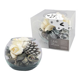 【2019 Winter 限定】Sola Flower ソラフラワー Winter(クリスマス)Glass Bowl グラスボウル Winter Forest ウィンターフォレスト【ポプリ】【プレゼント】【ナチュラル】【初心者向】【アロマ】【ルームフレグランス】【プチギフト】