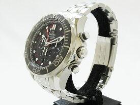 オメガ シーマスター プロダイバーズ 300M コーアクシャル GMT クロノグラフ 21230445201001 メンズ腕時計 【新品】