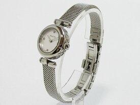 【グッチ】GUCCI 腕時計 141 レディースクォーツ 4PダイヤYA141512【新品】