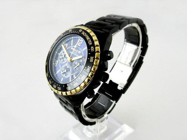 ポリス(POLICE) 腕時計 メンズクォーツ クロノグラフ 12545JSBG-03M【新品】