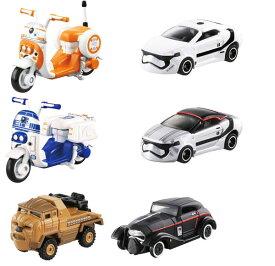 【タイムセール】トミカ スターウォーズ 6種セット 【 タカラトミー おもちゃ STAR WARS トミカ ミニカー 車 男の子 BB-8 R2-D2 チューバッカ カイロレン 】