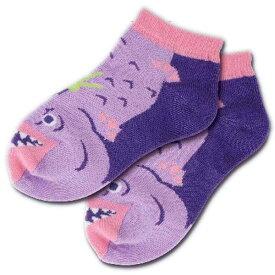 【メール便可】深海フレンズ キッズソックス チョウチンアンコウ 子供用靴下 13〜18cm