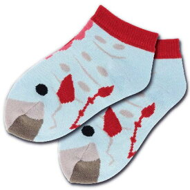 【メール便可】深海フレンズ キッズソックス リュウグウノツカイ 子供用靴下 13〜18cm
