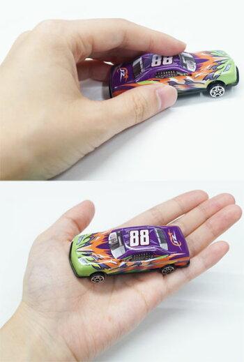 爆走レーシングカー(5台セット)【おもちゃ男の子ミニカーカーレース】