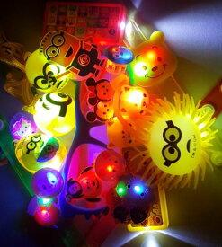 【福袋 おもちゃ】お祭り 光る おもちゃ 40個セット【 光るおもちゃ 光り物 小物 景品 イベント 子供会 お祭り まとめ買い ランダム キャラクター グッズ お子様ランチ 販促品 B品 詰め合わせ 】