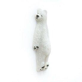 【メール便可】壁や冷蔵庫で気持ちよさそう♪ 壁ごこち 白熊(しろくま)