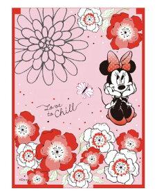 【タイムセール】【メール便可】折りたたみミラー ミニー(フラワー) 単品販売【 グッズ キャラクター 鏡 Disney ディズニー ミニーマウス 】
