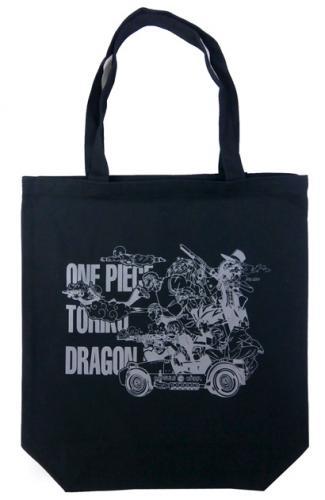 週刊少年ジャンプ45周年記念 ドラゴンボール×ワンピース×トリコ トートバッグ【 マザーバッグ エコバッグ トートバッグ 】