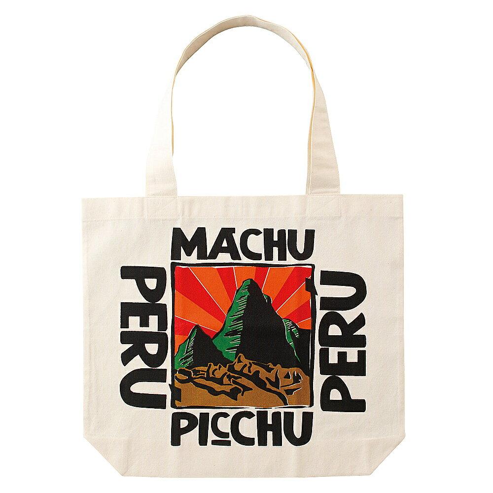 [5000円以上で送料無料] ペルーお土産 | トートバッグ 「マチュピチュ」【162640】
