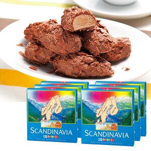 [送料無料] 北欧お土産 | スカンジナビア フレークトリュフチョコレート 6箱セット【201292】