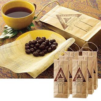 新喀里多尼亚纪念品 | 新喀里多尼亚巧克力咖啡豆 6 袋集 10P04Jul15