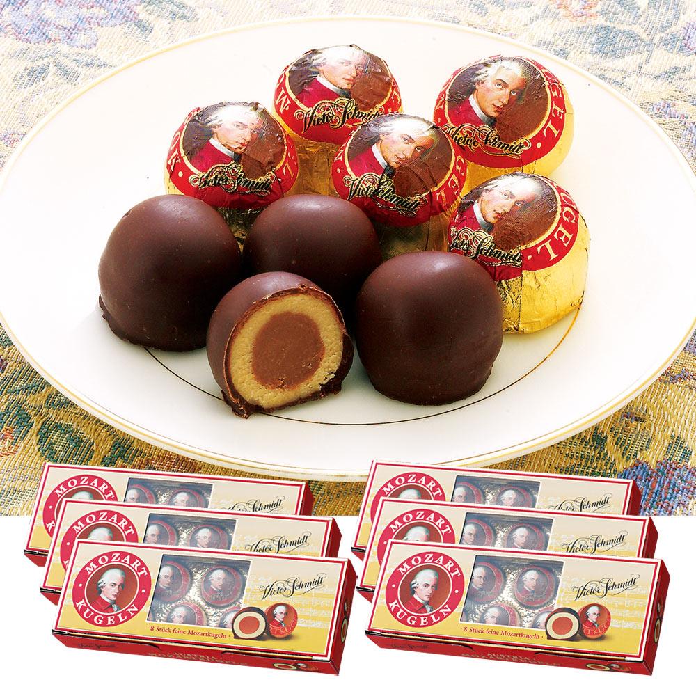 [送料無料] オーストリアお土産 | モーツァルト チョコレート 6箱セット【191241】