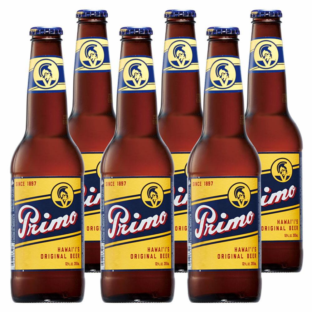 [5000円以上で送料無料][父の日] アメリカ・ハワイお土産   プリモビール 6本セット【R82002】