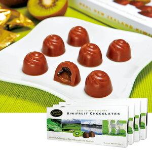 [送料無料] ニュージーランドお土産 | キウイフルーツチョコレート 4箱セット【205063】
