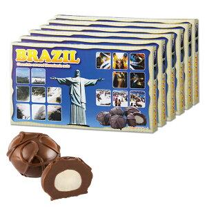 ブラジルお土産 | ブラジル マカデミアナッツチョコレート 6箱セット【202134】