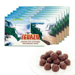 [送料無料] ブラジル・アルゼンチンお土産 | イグアスの滝 マカデミアナッツチョコレート 6箱セット【202133】