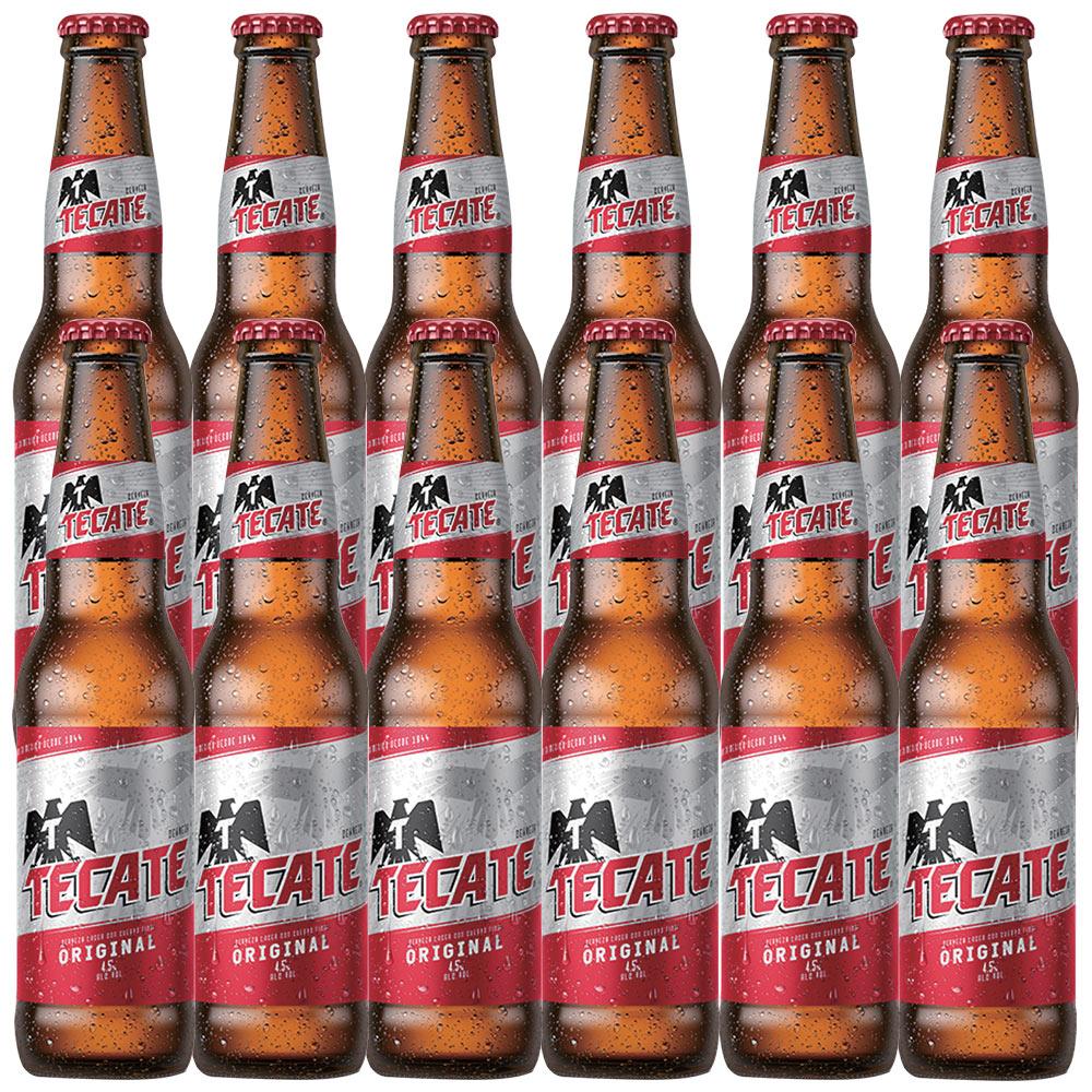 [送料無料] メキシコお土産   テカテビール 12本セット【R72028】