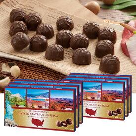 [送料無料] アメリカお土産 | アメリカ世界遺産チョコレート 6箱セット【192002】