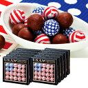[送料無料] アメリカお土産 | アメリカン フラッグボールチョコレート 10箱セット【172005】
