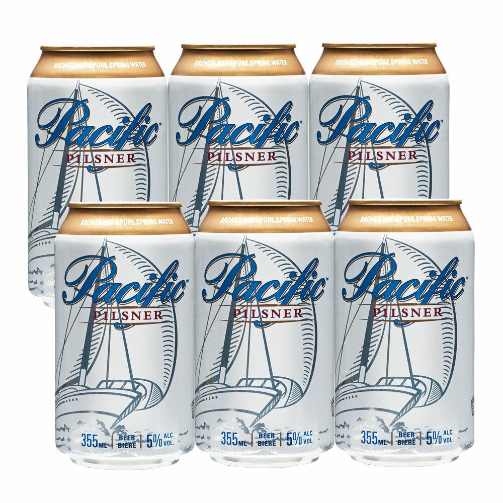[5000円以上で送料無料] カナダお土産 | カナダ パシフィック ピルスナービール 6缶セット クーラーバッグ付【R72020】