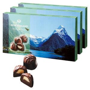 [5400円以上で送料無料] ニュージーランドお土産 | ニュージーランド マカデミアナッツ チョコレート 3箱セット【205058】
