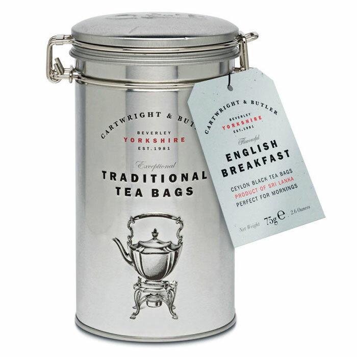 [5000円以上で送料無料][ホワイトデー] カートライトアンドバトラー CARTWRIGHT & BUTLER|イングリッシュ・ブレックファースト・ティー 缶入りティーバッグ 紅茶【105694】