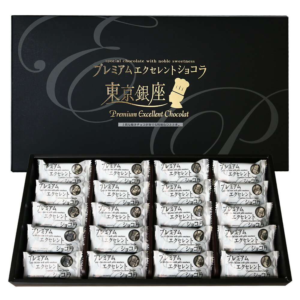[5000円以上で送料無料] 東京土産 | 銀座プレミアムエクセレントショコラ 20個入り【105713】